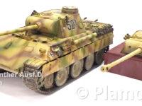 ドイツ・5号戦車パンターD型/パンタートーチカ 1/35 ドラゴン