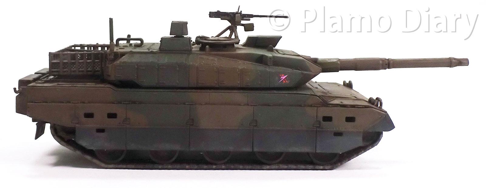 陸上自衛隊・10式戦車 1/72 アオシマ