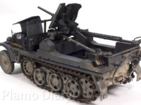 1tハーフトラック3.7cm対戦車自走砲 1/35 サイバーホビー