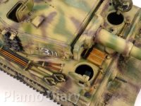 ティーガー1後期生産型鉄道輸送状態 1/35 AFVクラブ