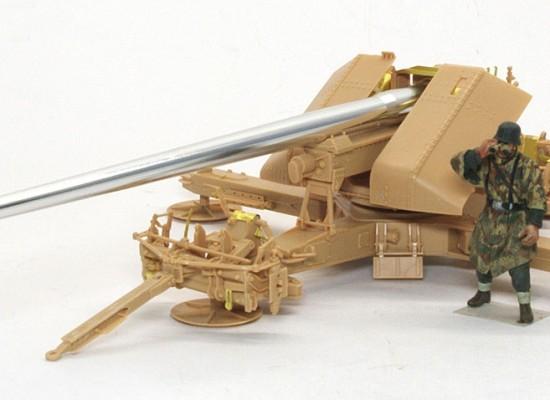 組立て完了 12.8cm野砲K44