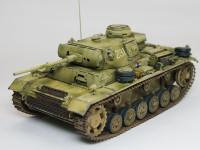 ドイツ・3号戦車M初期型 1/35 サイバーホビー