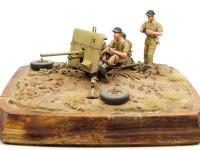 イギリス・オードナンス・QF2ポンド砲 1/35 バルカン