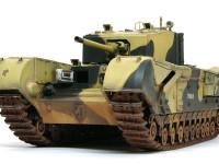どうですこの勇姿。戦車はこの角度が一番カッコいいですね。