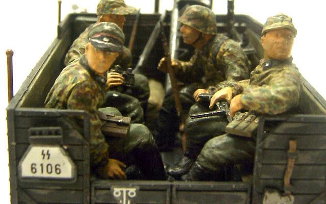 ドイツ・親衛隊歩兵セット