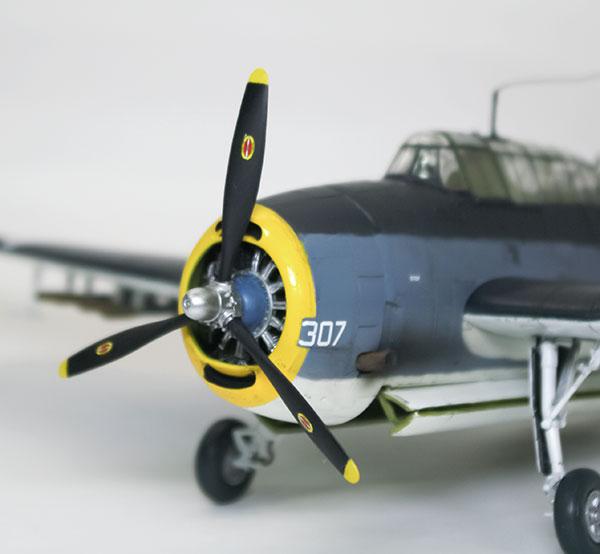 アメリカ海軍・TBM-3アヴェンジャー 1/48 アカデミー