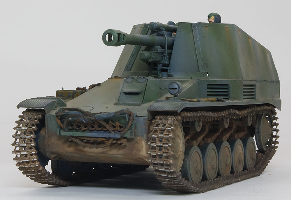 ドイツ・2号自走榴弾砲ヴェスペ 1/35 タミヤ