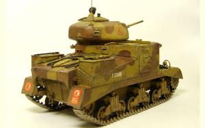 イギリス・M3グラント中戦車 1/35 タミヤ