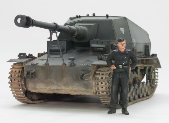 ドイツ・4号a型10.5cm対戦車自走砲ディッカーマックス 1/35 トランペッター