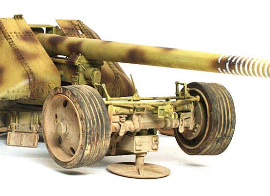 ドイツ・12.8cm野砲K44
