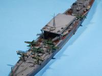 日本海軍・水上機母艦千代田 1/700 アオシマ