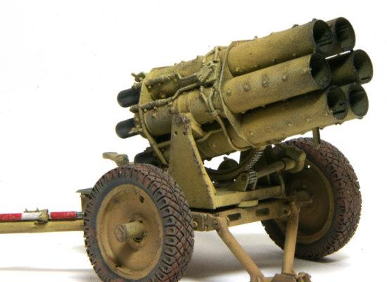 精密に再現された砲架と揺架です。歯車はちゃんとまわるはずでしたが、固定してしまいました。