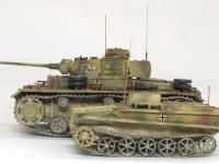 ドイツ・3号J型操縦戦車 / ボルグバルド4B型 1/35 サイバーホビー