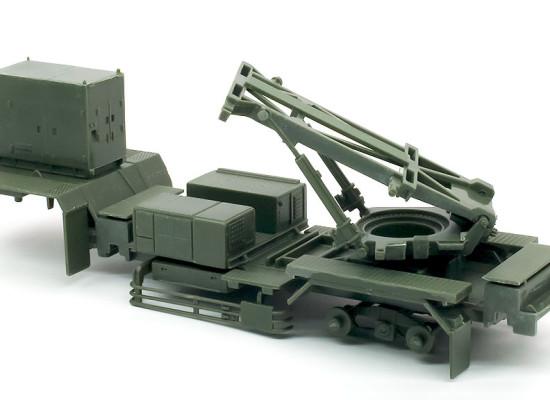 M902発射機台車の組みたて
