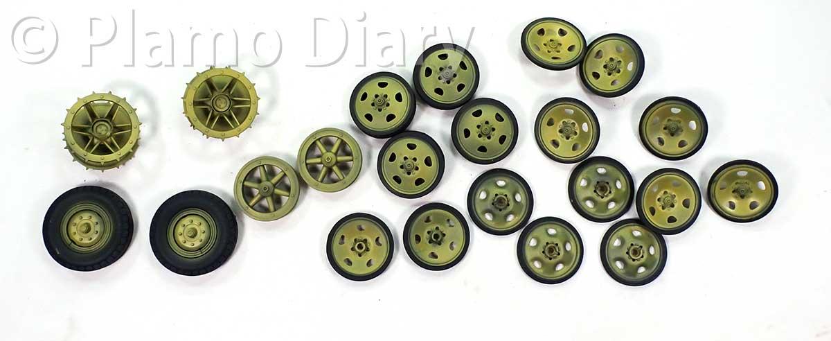 車輪の基本塗装