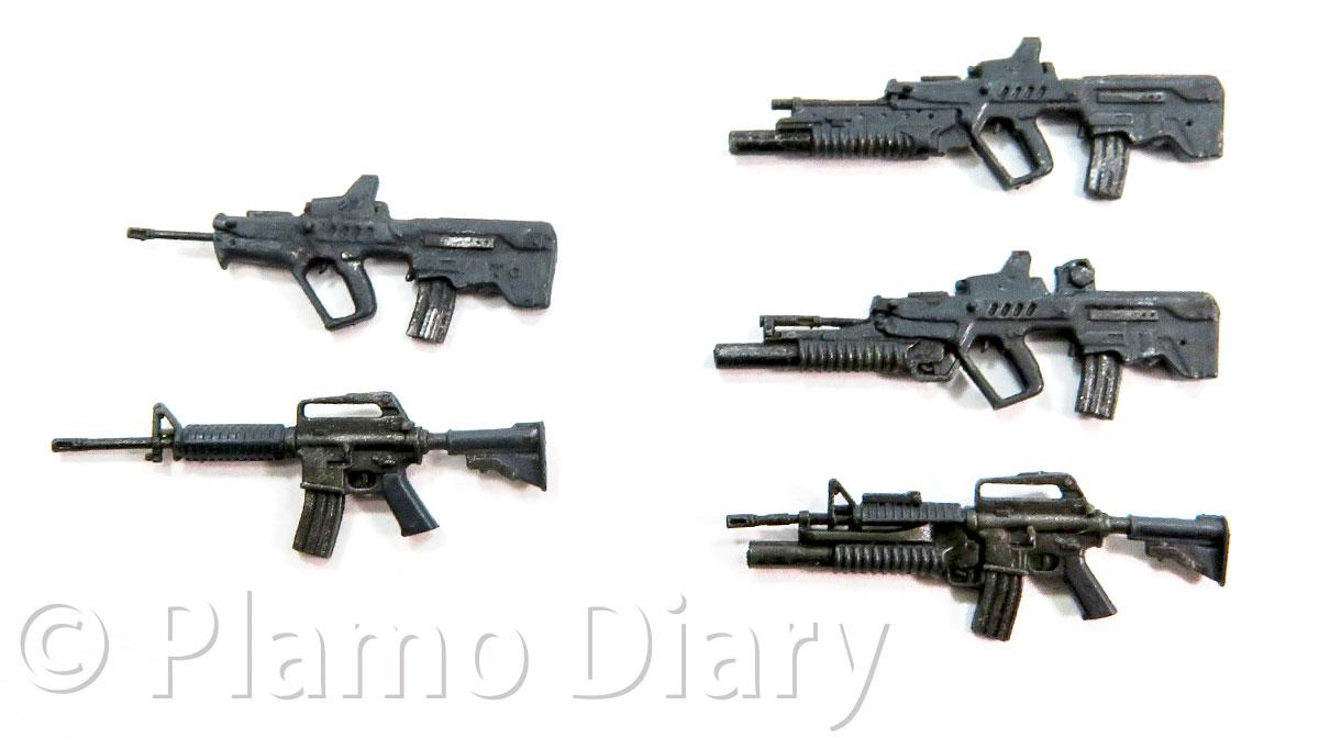 オマケの小銃