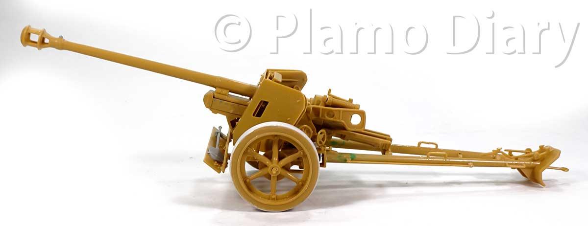 砲の組み立て完了