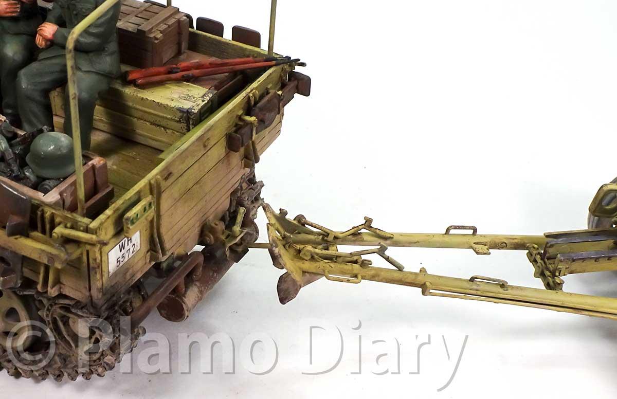 Pak40対戦車砲の接続