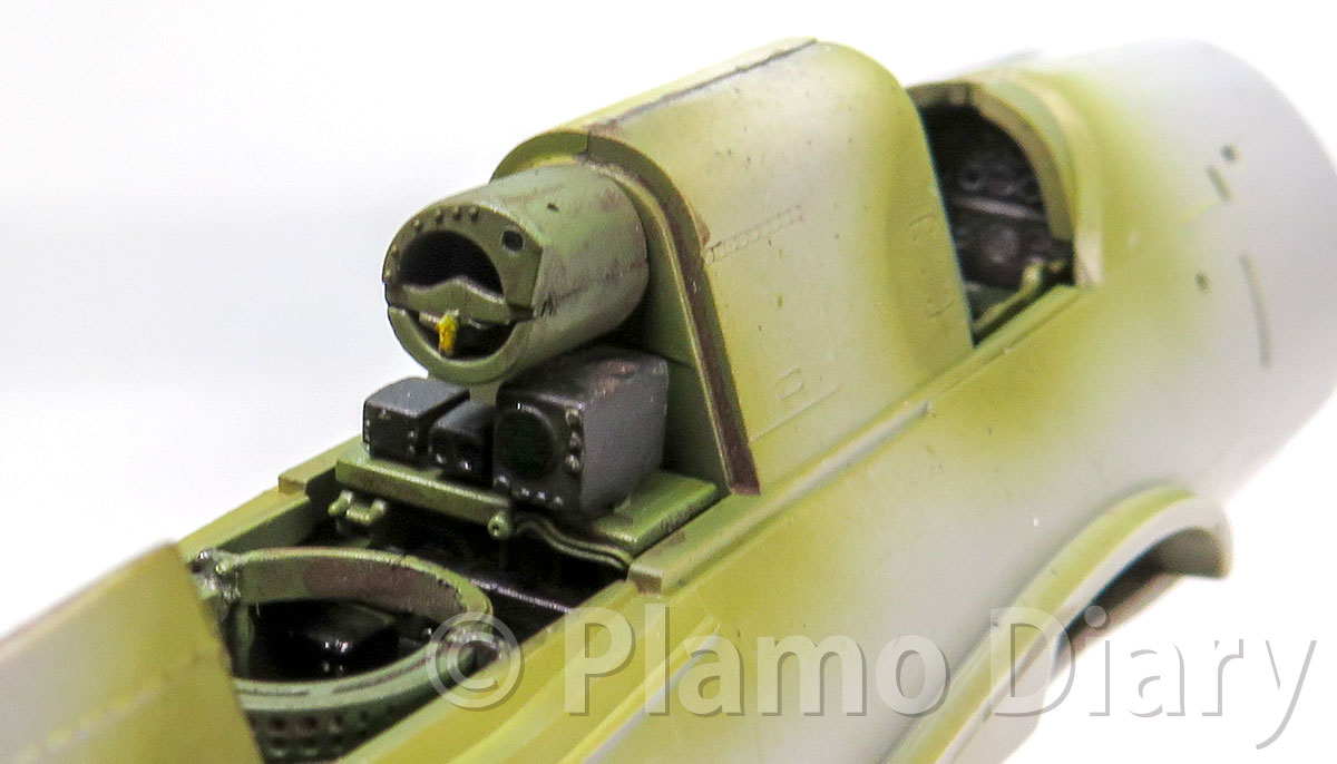 機銃手席の製作