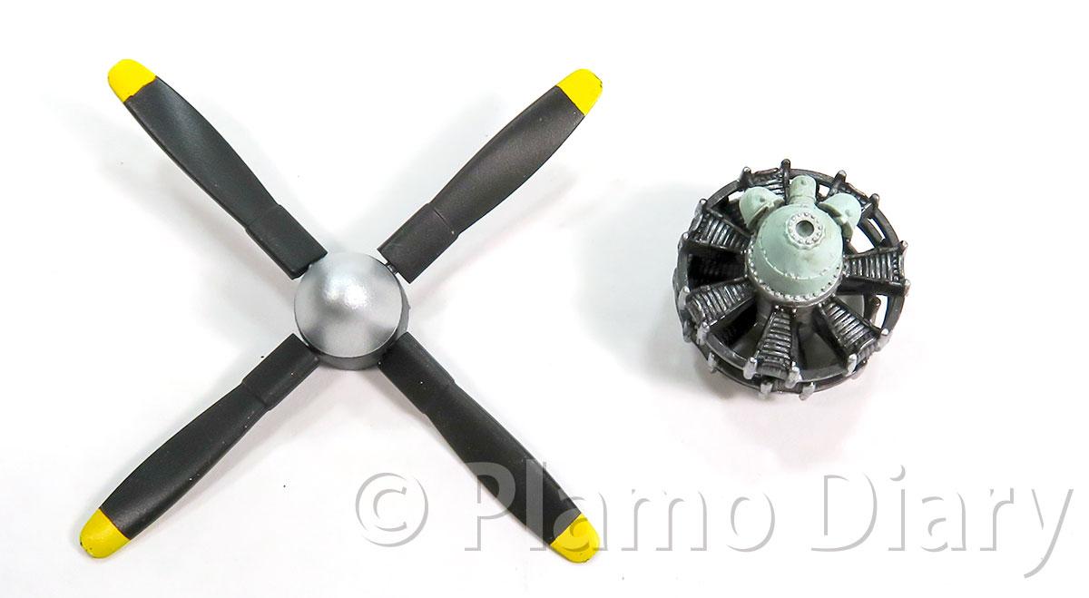 プロペラとエンジン