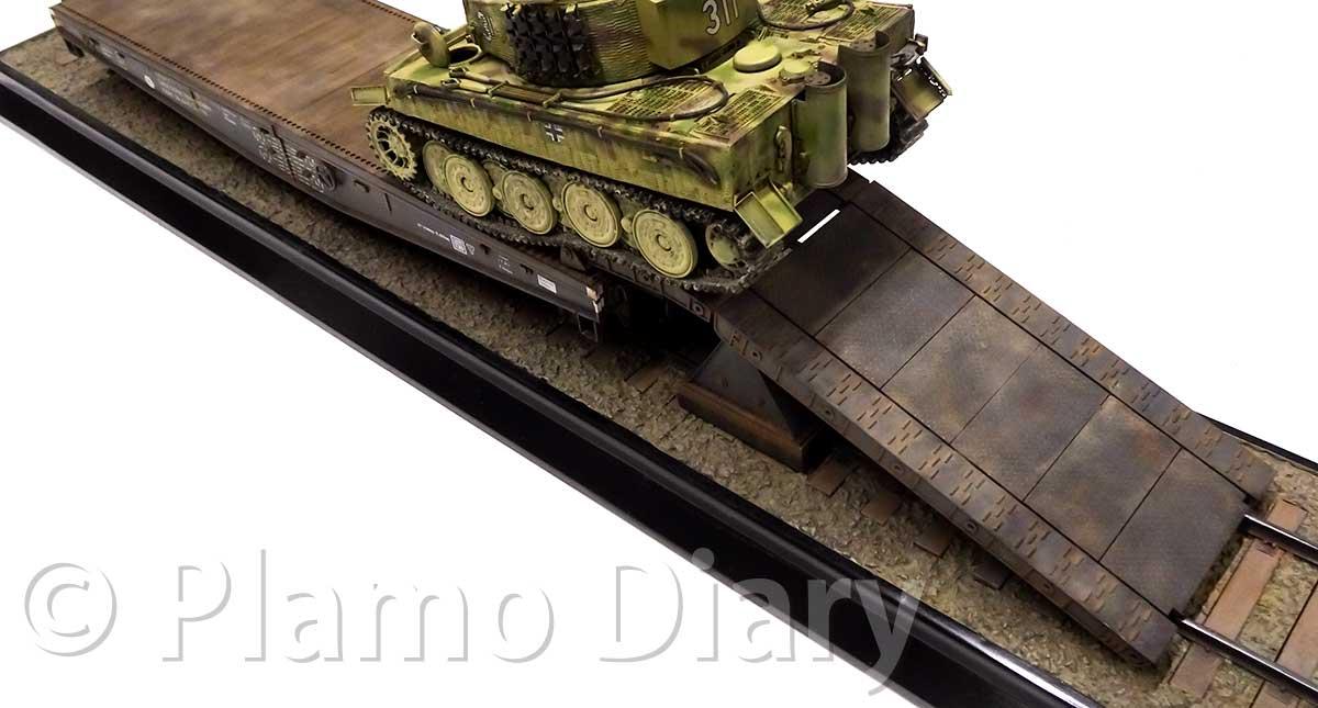 戦車を載せてみた