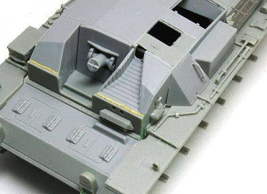 フェンダーの組立て 3号突撃砲A型
