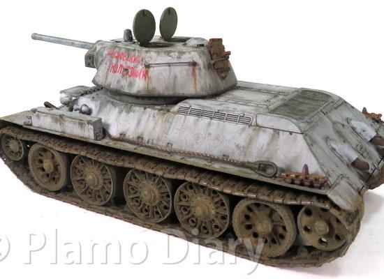 戦車の仕上げ