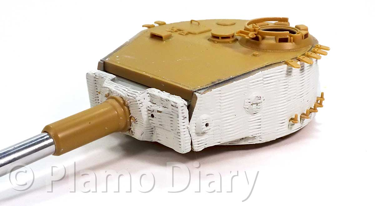 砲塔のツィンメリット・コーティング
