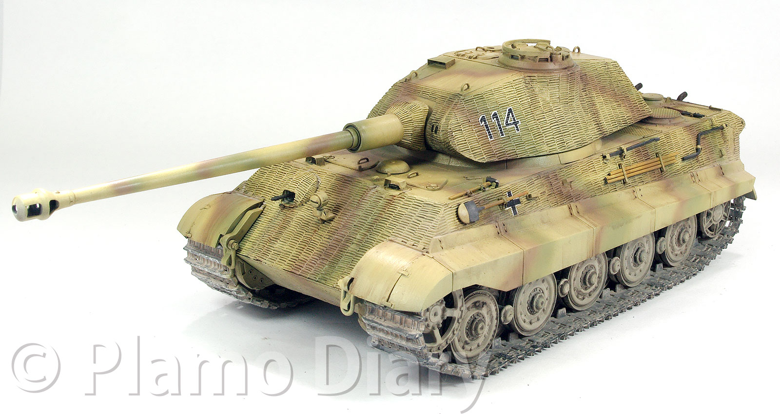 ケーニヒスティーガー・ポルシェ砲塔 1/35 ドラゴン