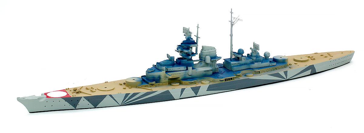 船体と甲板の塗装