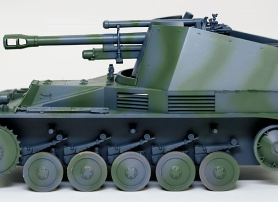 迷彩塗装 2号自走榴弾砲ヴェスペ