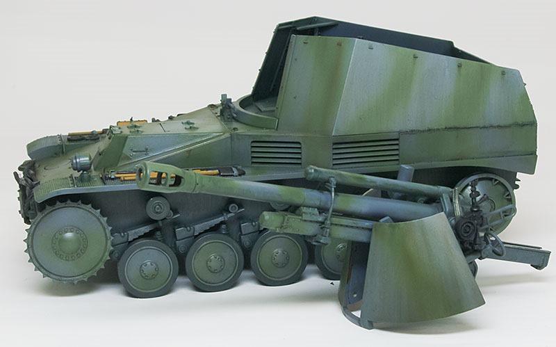 ストリーキング 2号自走榴弾砲ヴェスペ