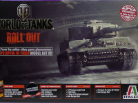 World of Tanks・ティーガー1後期生産型 1/35 イタレリ