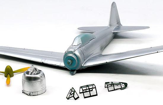 零式艦上戦闘機22型 下塗り