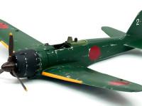零式艦上戦闘機22型 機体の傷とデカール貼り